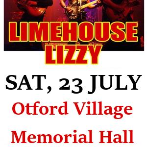 Limehouse Lizzy, Sat 23 July OVMH